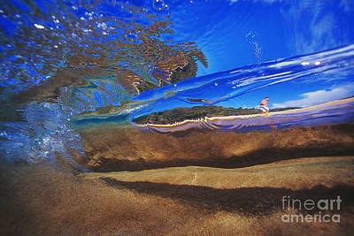 Abstract Surfer Art Print
