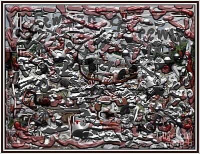Abstract Texture Of Scrap  Original