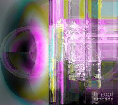 Authority Mixed Media - Abstract The Moment by Fania Simon