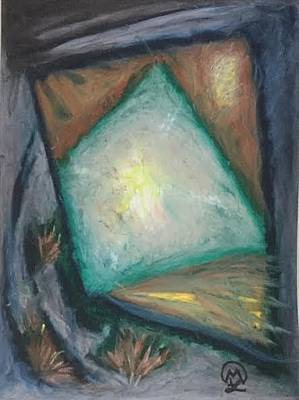 Pastel - Abstract  by Therese Legere