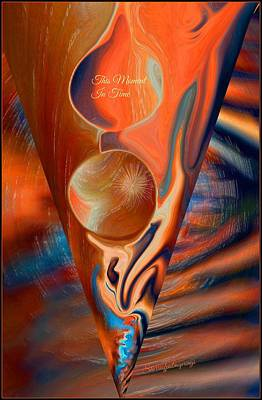 Other Painting - Abstract This Moment In Time by Sherri's - Of Palm Springs