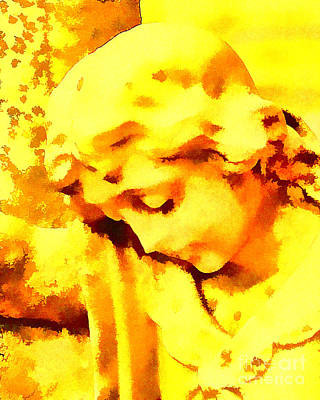 Bath Time Rights Managed Images - Abstract Thought Royalty-Free Image by Joe Geraci