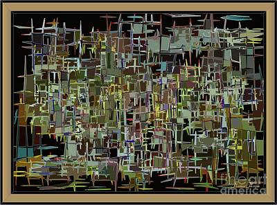 Parallel World Painting - Abstract Thougths by Michael Mirijan