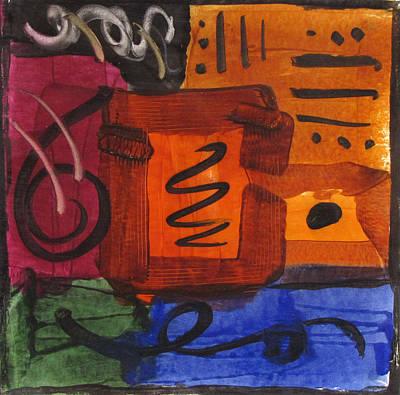 Abstract Tile I Art Print