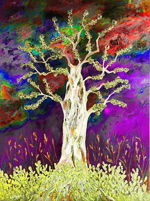 Painting - Abstract Tree by Loredana Messina