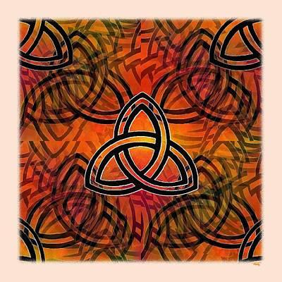 Digital Art - Abstract - Trinity by Glenn McCarthy Art and Photography