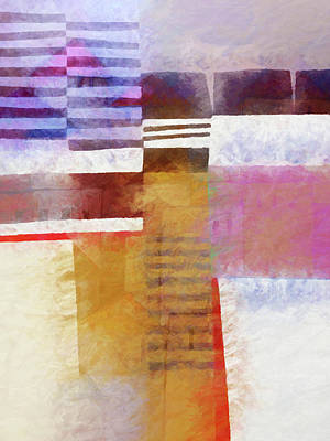 Painting - Abstract Urban by Lutz Baar