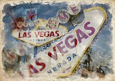 Photograph - Abstract Vegas Ix by Ricky Barnard