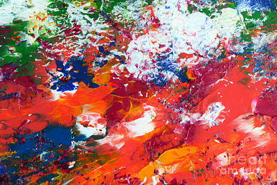 Painting - Abstract W1115a by Mas Art Studio