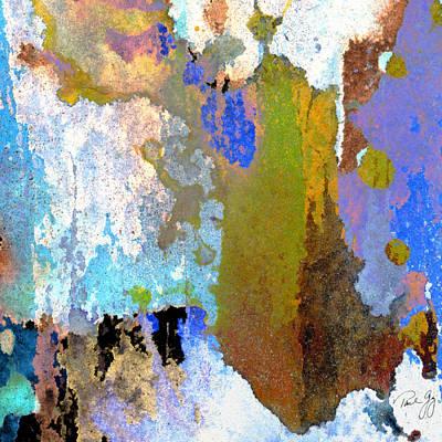 Abstract Wash 1 Art Print