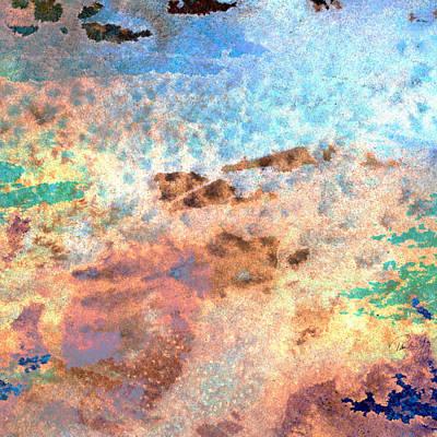 Abstract Wash 2 Art Print