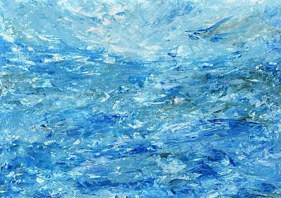 Abstract Water #1 Original by Kate Chesters