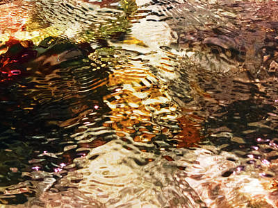 Total Abstract Photograph - Abstract Water #6 by Nat Air Craft