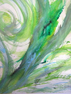 Painting - Abstract Water by France Laliberte