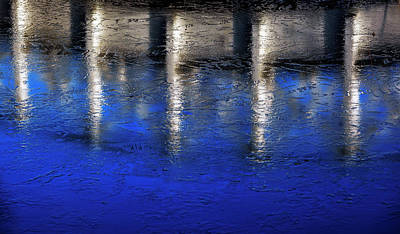 Photograph - Abstract Water by Mike Santis