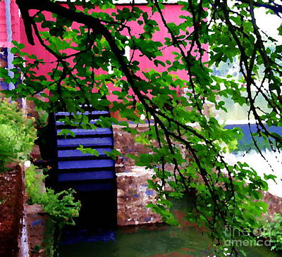 Photograph - Abstract - Water Wheel by Jacqueline M Lewis