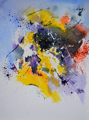 Modern Kitchen - Abstract Watercolor 70075 by Pol Ledent