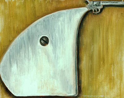 Painting - Tommervik Avant Garde Pistol Gun Art Print by Tommervik