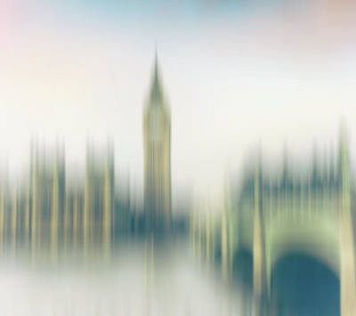 Abstract Westminster Art Print