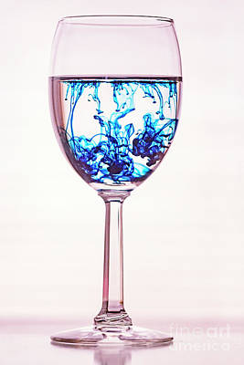 Photograph - Abstract Wine by Darleen Stry