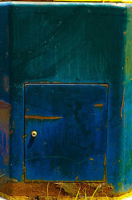 Photograph - Abstract With Door by Lynn Hansen
