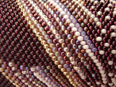 Seed Beads Photograph - Abstract by Yvette Pichette
