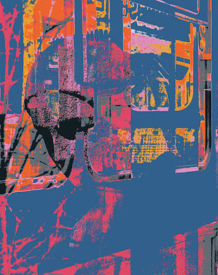 Mixed Media - Abstract Zurich by Shay Culligan