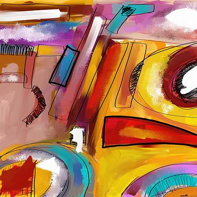 Digital Art - Abstract2 by Patric Mouth