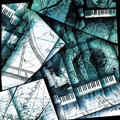 Emerald Digital Art - Abstracta 28 Emerald Cadenza by Gary Bodnar