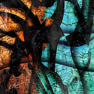 Abstracta_13 Patmos Art Print by Gary Bodnar