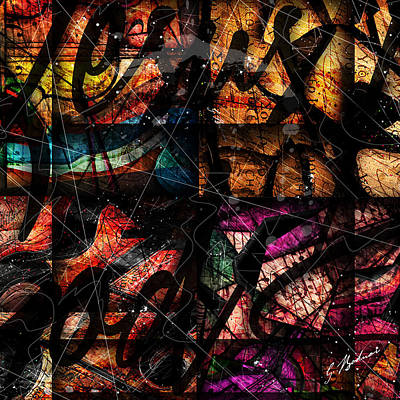 Abstracta_15 Nissi Art Print by Gary Bodnar