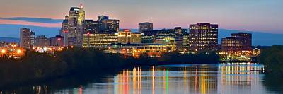 Hartford Connecticut Panorama Print by Frozen in Time Fine Art Photography