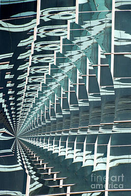 Abstract Photograph - Abstracted Architecture -dubai 2 by Scott Cameron
