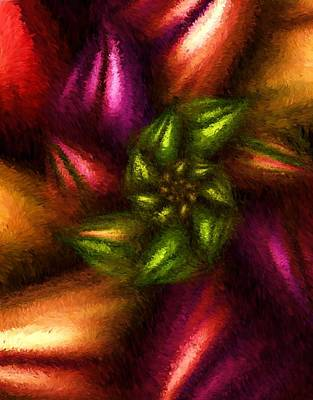 Digital Art - Abstracted Impression 091310 by David Lane