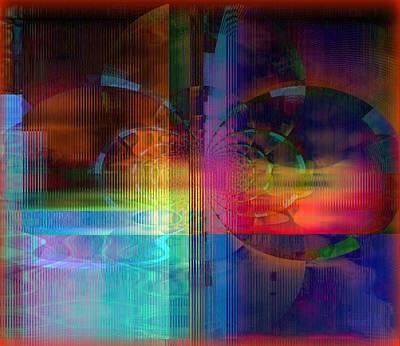 Yesayah Mixed Media - Abstracting Imagination by Fania Simon