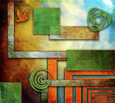 Digital Art - Abstraction 2 by Chuck Staley
