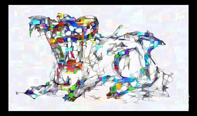 Digital Art - Abstraction 2126 by Marek Lutek