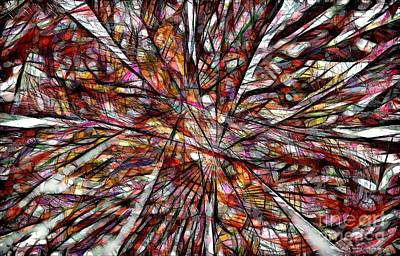 Abstract Oil Paintings Color Pattern And Texture - Abstraction 3098 by Marek Lutek