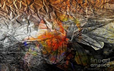 Typography Tees - Abstraction 3415 by Marek Lutek