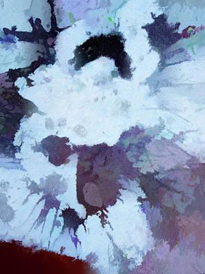 Watercolor Pet Portraits Digital Art - Abstraction #35 by Kim Curinga