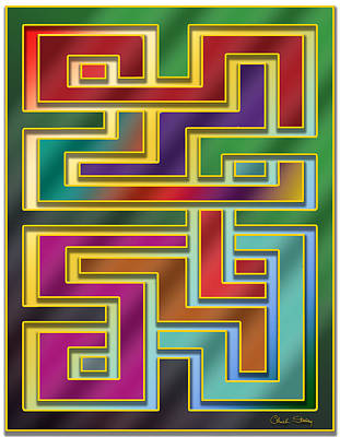 Digital Art - Abstraction 4 by Chuck Staley