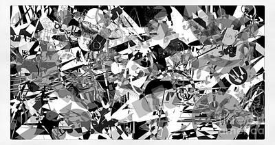 Digital Art - Abstraction 4143 by Marek Lutek
