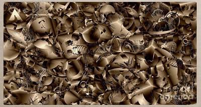 Digital Art - Abstraction 4343 by Marek Lutek