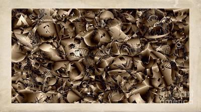 Digital Art - Abstraction 4344 by Marek Lutek