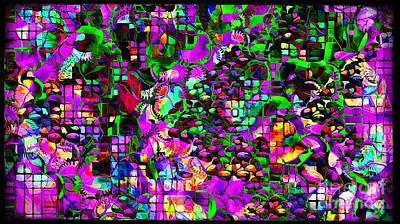 Digital Art - Abstraction 4370 by Marek Lutek