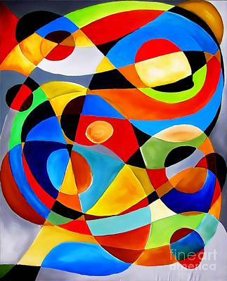 Digital Art - Abstraction 4398 by Marek Lutek