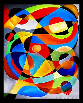 Digital Art - Abstraction 4399 by Marek Lutek