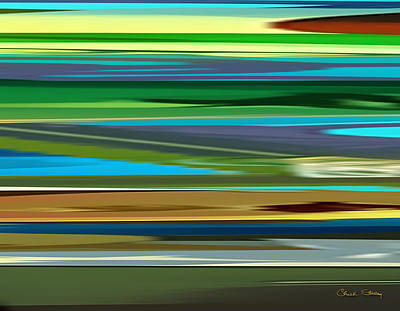 Digital Art - Abstraction 7 by Chuck Staley
