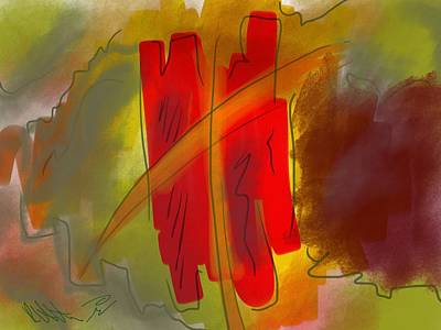 Abstraction Collect 3 Art Print