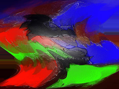 Digital Art - Abstraction In Early Art  by Vilma Zurc